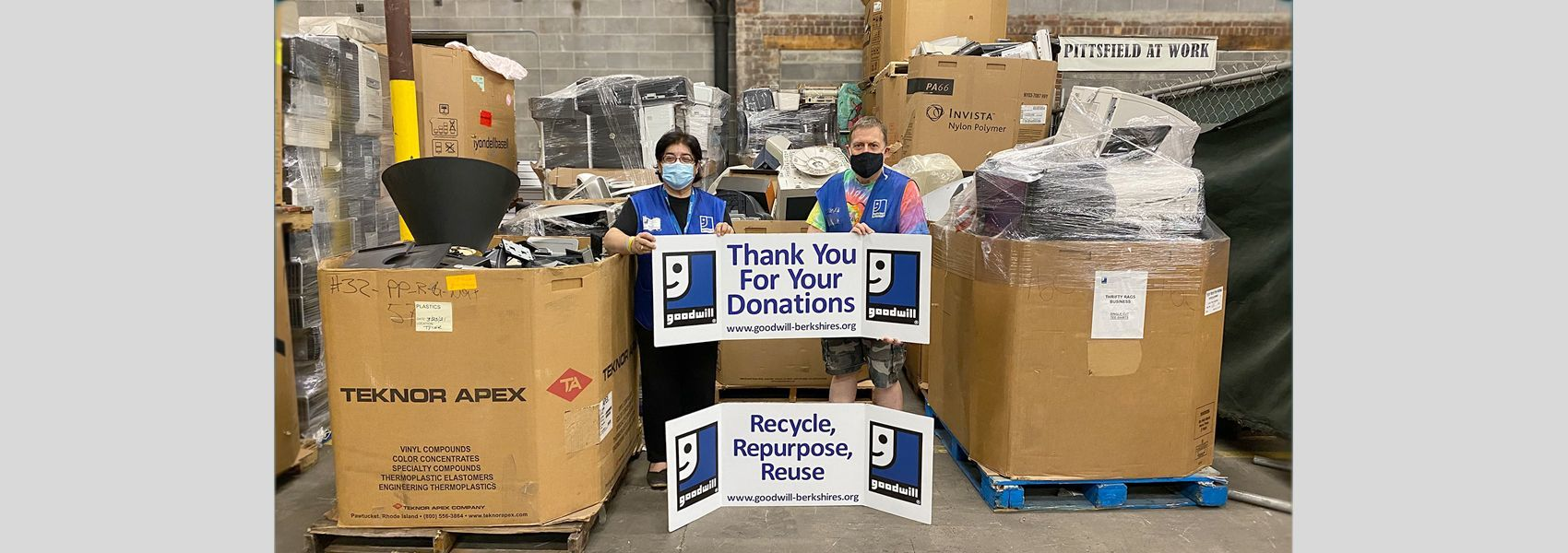 Over 12,000 lbs. of E-Waste kept from landfills on Earth Day 2021!
