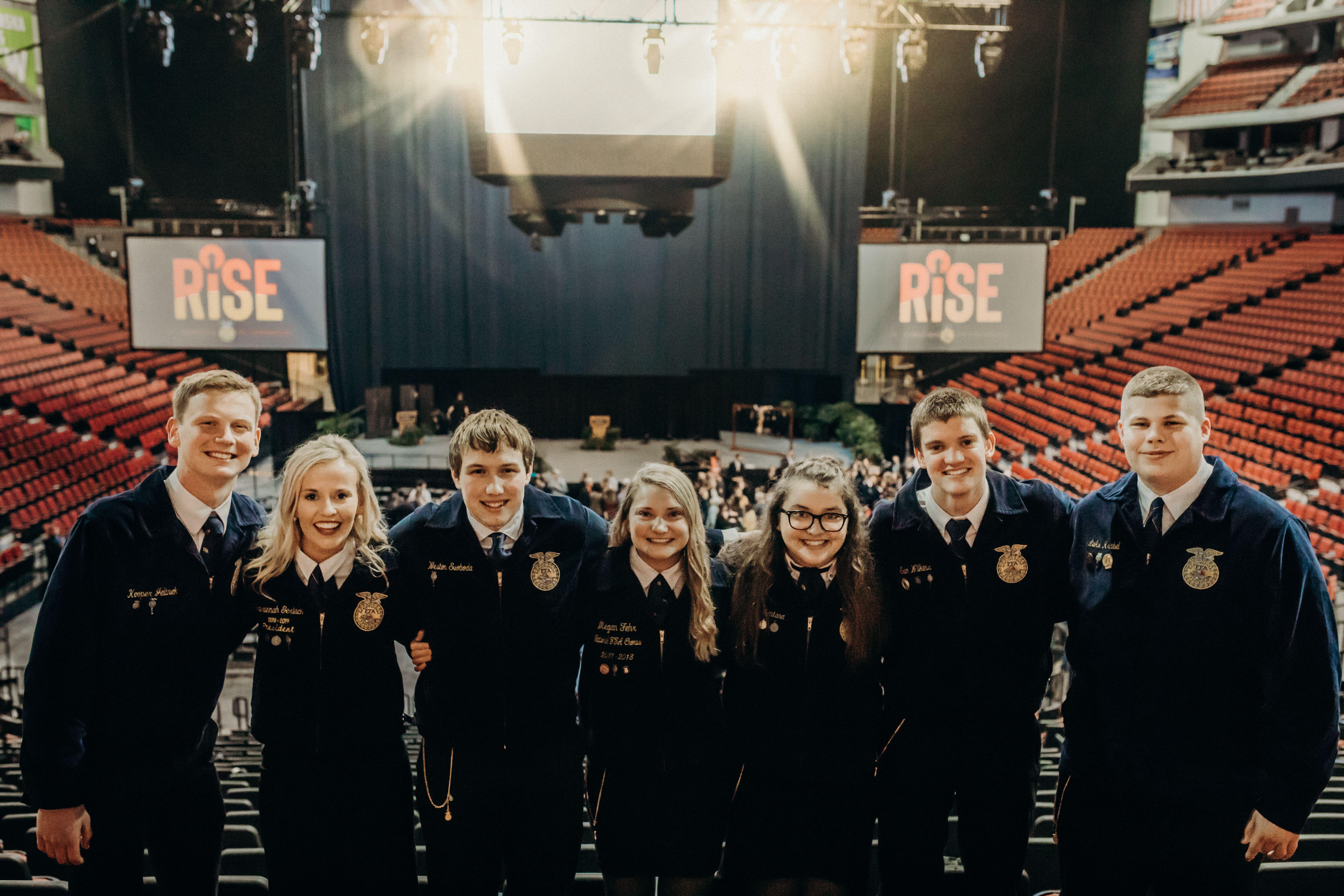 Meet the 2019-20 Nebraska FFA State Officers