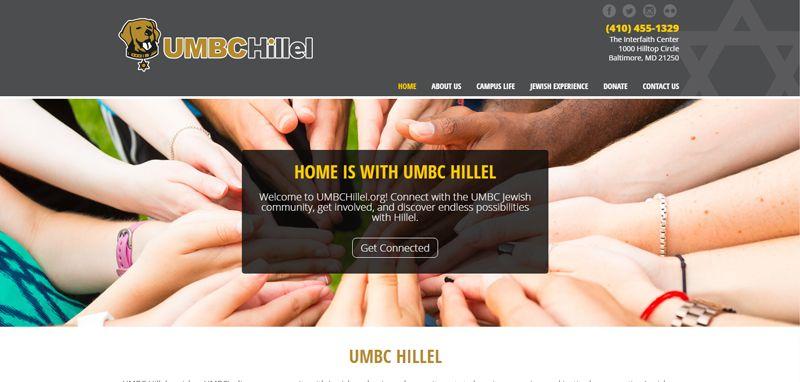 UMBC Hillel: Web Development