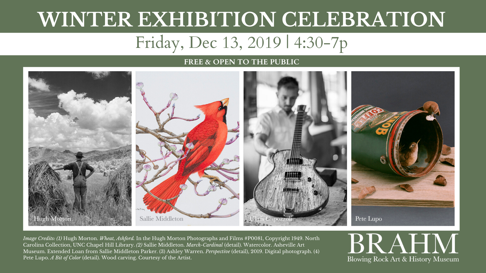 Winter Exhibition Celebration