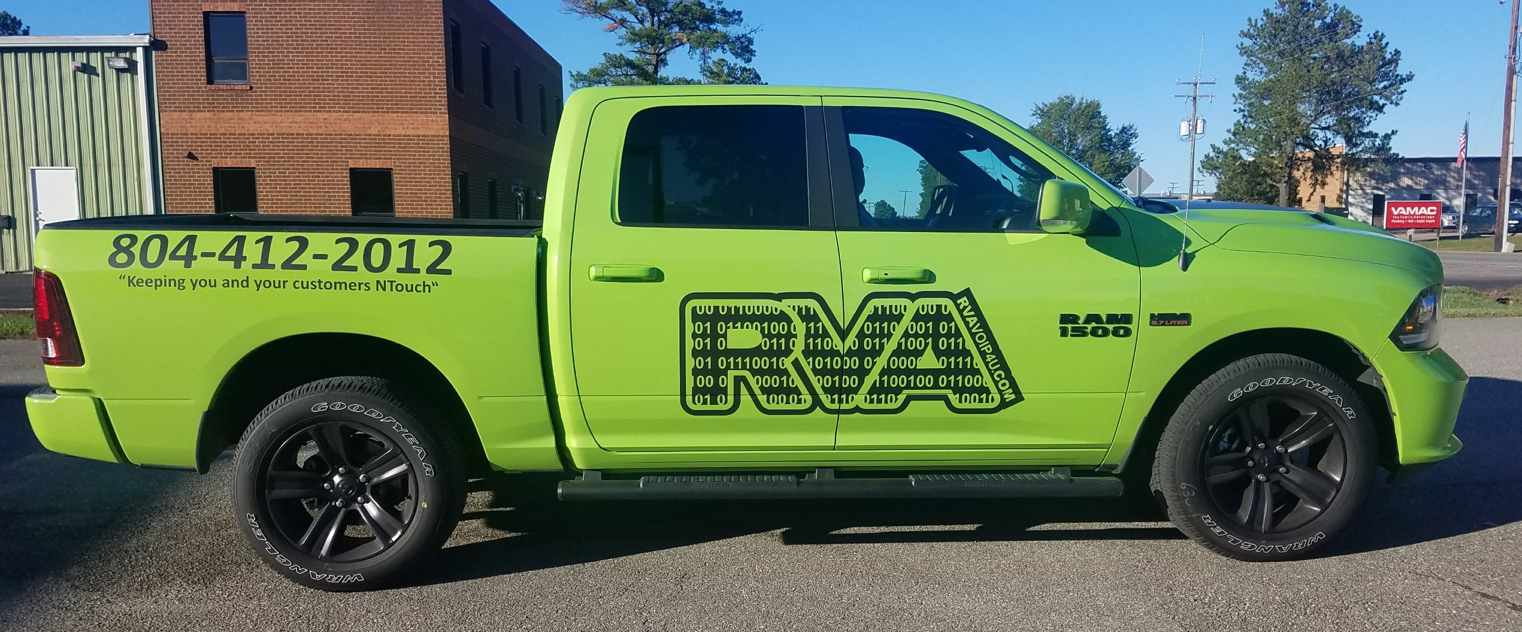 RVA Voip RAM Truck,  Richmond, Ashland, Mechanicsville, Glen Allen, Hanover, Henrico, Virginia