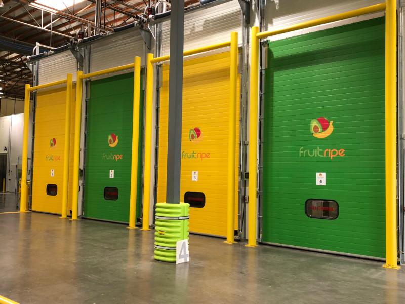 Bay Door Vinyl Graphics for Warehouses in Southern California
