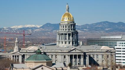 Colorado Statehouse Day