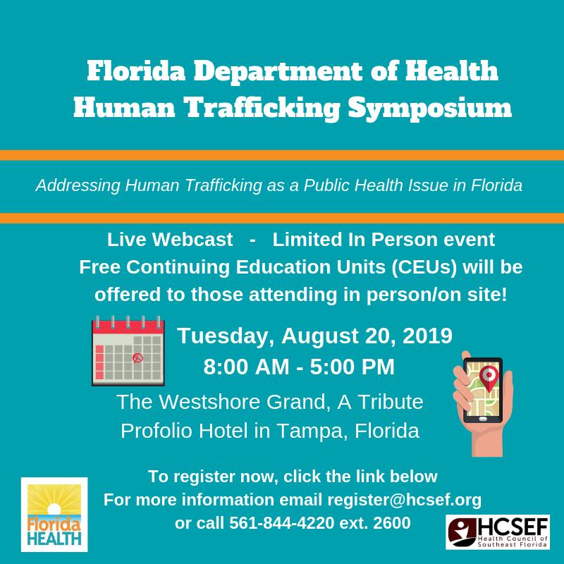 Human Trafficking Symposium
