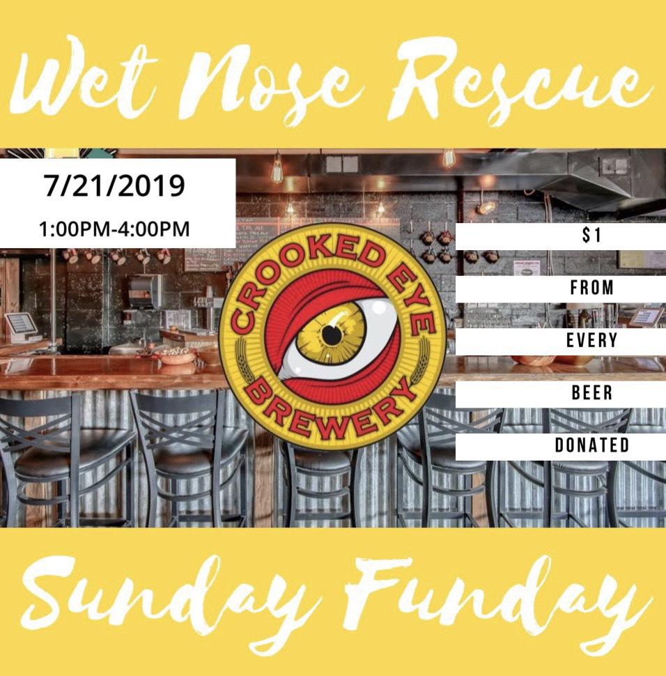 Sunday Funday @ Crooked Eye Brewery