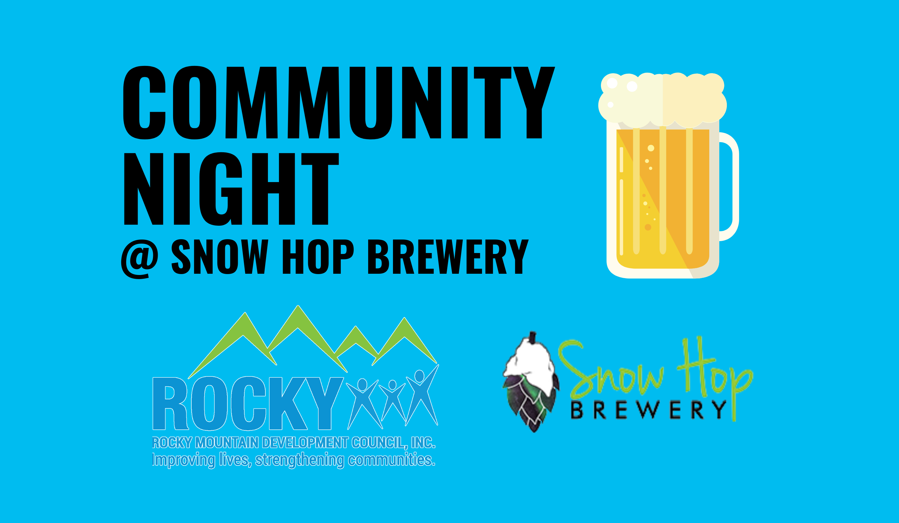 Community Night at Snow Hop Brewery
