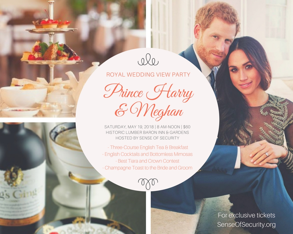 Royal Wedding Party.Sense Of Security News Events Royal Wedding Watch Party