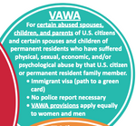 Select Humanitarian and Family-Based Immigration Options: Various Paths to a Green Card (Lawful Permanent Residence) for Certain Survivors and Family Members