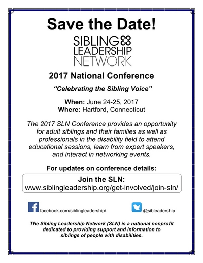 Sibling Leadership Network Annual Conference