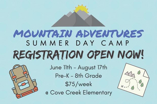 Mountain Adventures Summer Camp 2018!