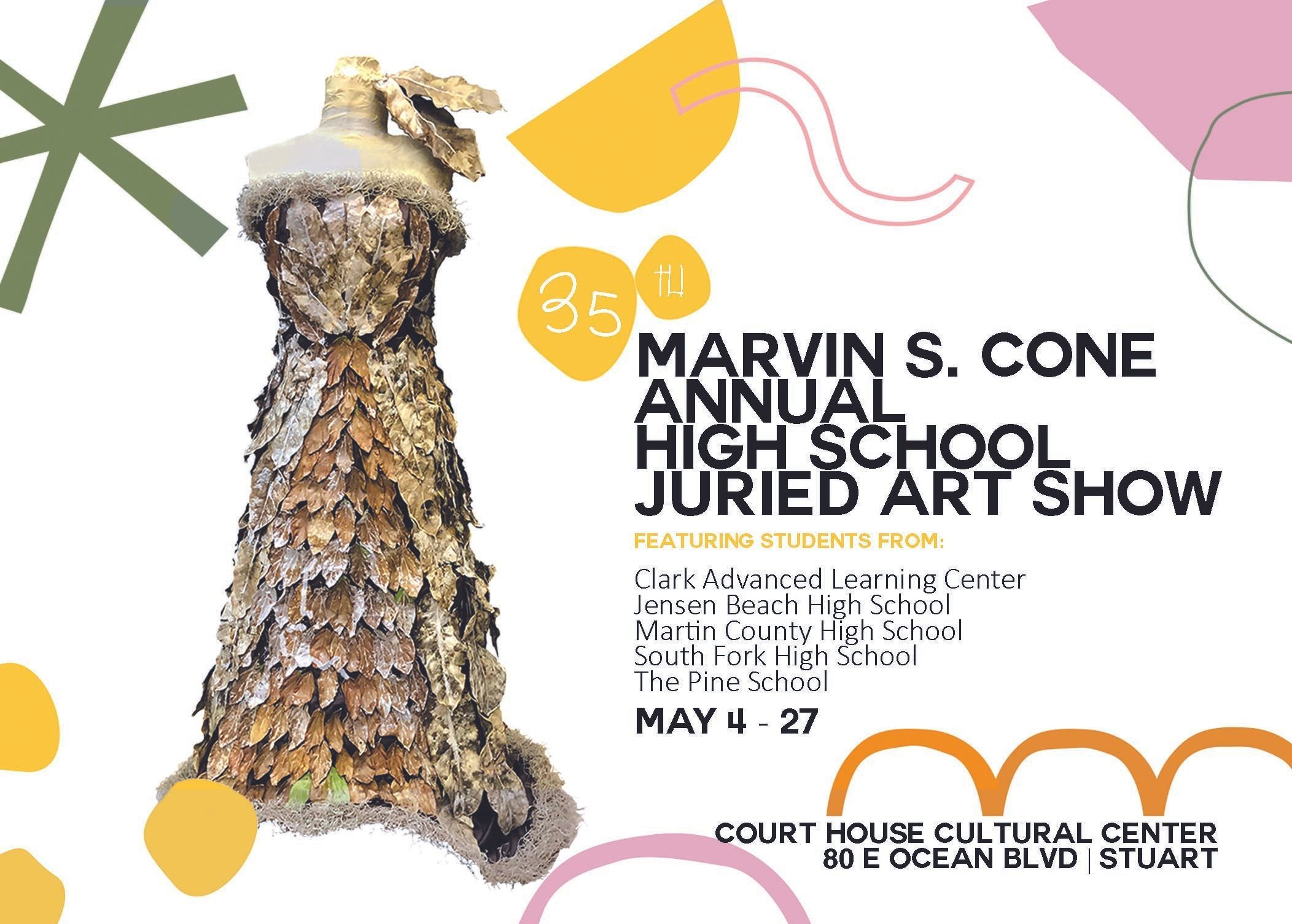 Marvin S. Cone 35th Annual High School Juried Art Show