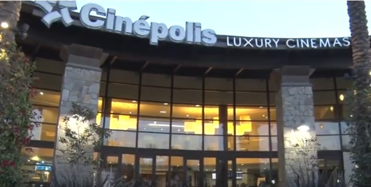 Cinepolis Luxury Theaters Holiday Mixer & Movie
