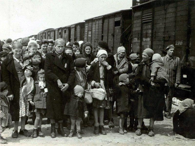 Arrival at Auschwitz
