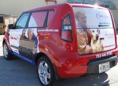Kia Soul Partial Wrap