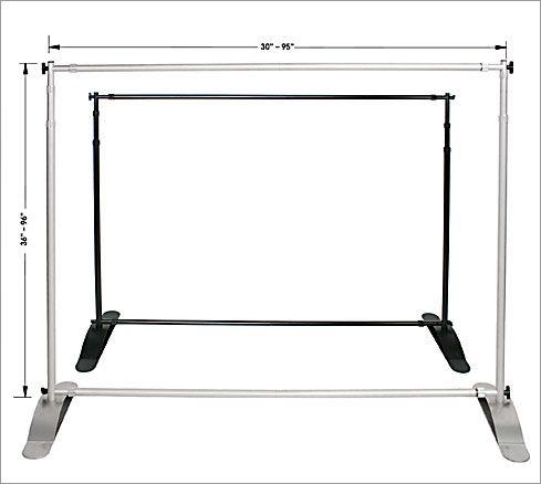 Adjustable Banner Stands