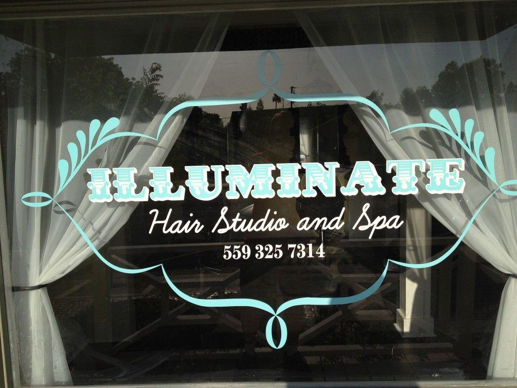 Illuminate Spa Window