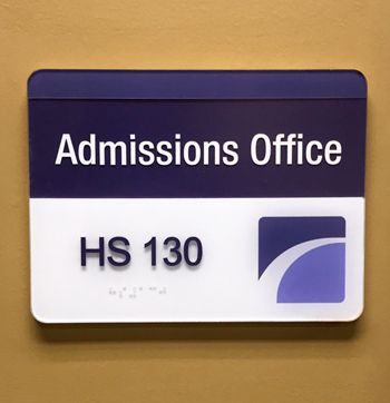 ADA Wall Sign with Insert