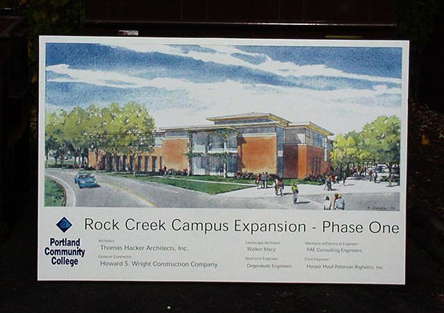 PCC Rock Creek Site Sign