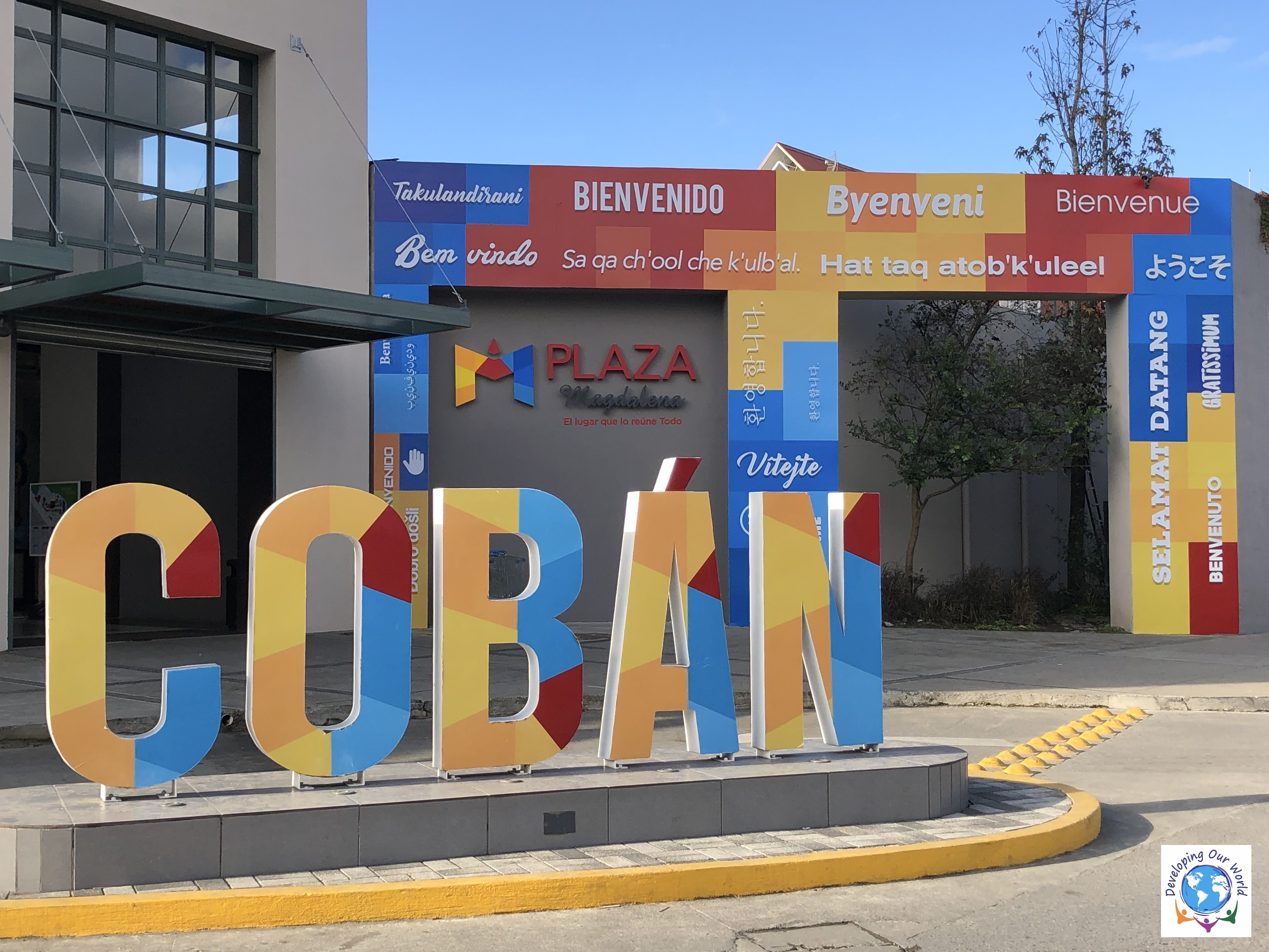 The Coban sign