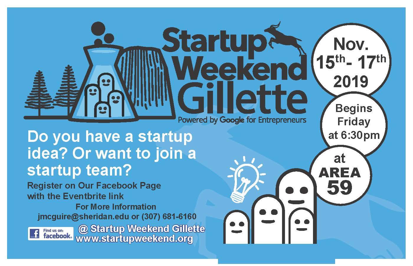 Startup Weekend Gillette