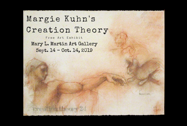 Margie Kuhn's Creation Theory Art Exhibit