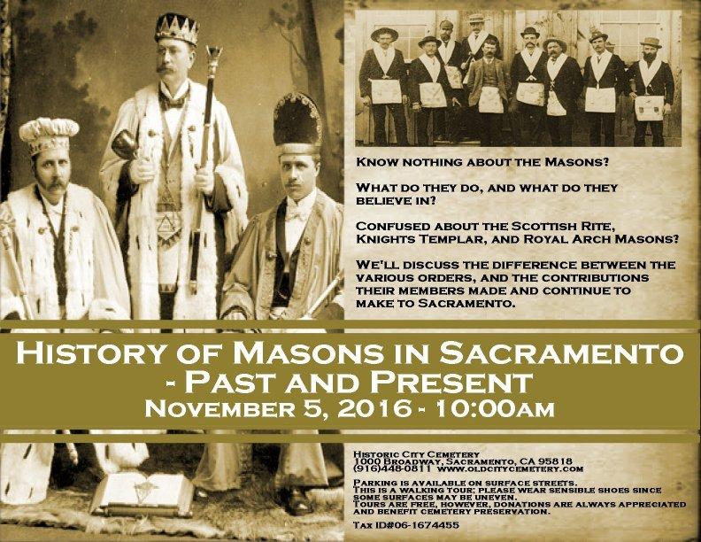 History of Masons in Sacramento