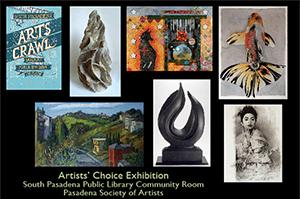 2014 - Artists Choice - South Pasadena Library