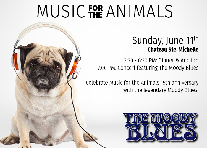 Celebrate the 15th annual Music for the Animals!