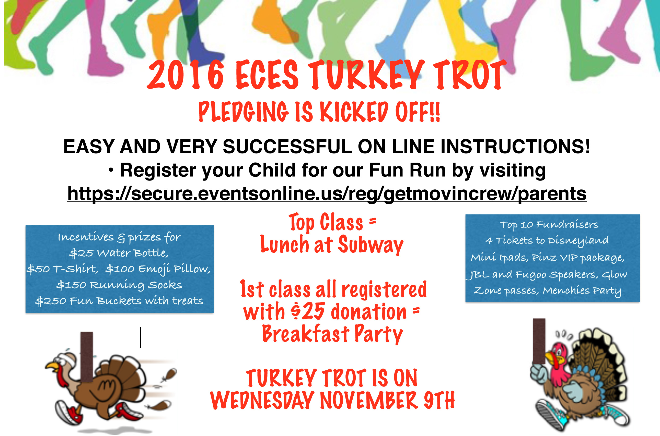 TURKEY TROT!