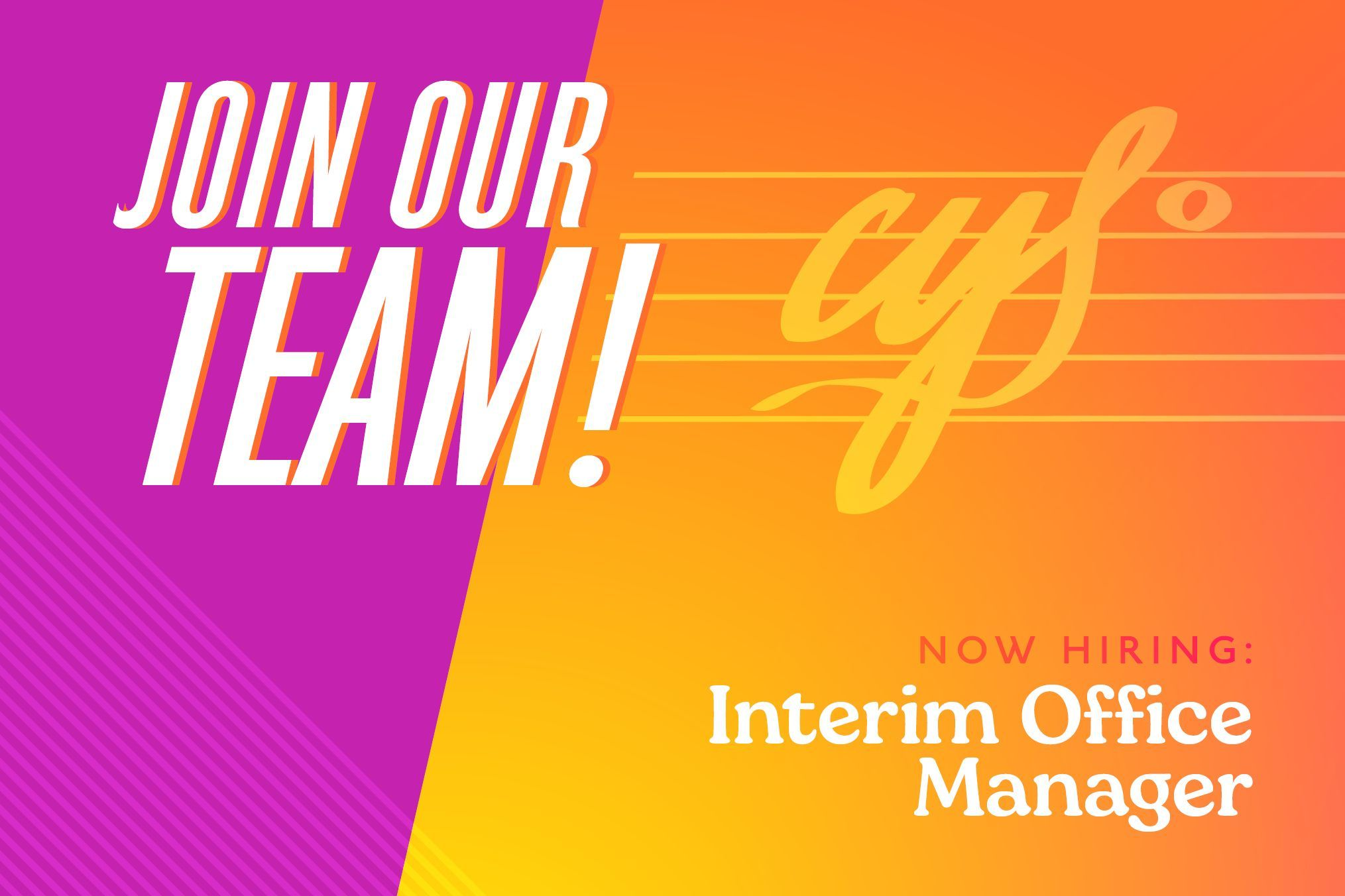 Join Our Team - IOM