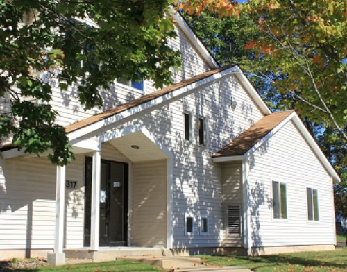 Community Child Guidance Clinic current building at 317 N Main St