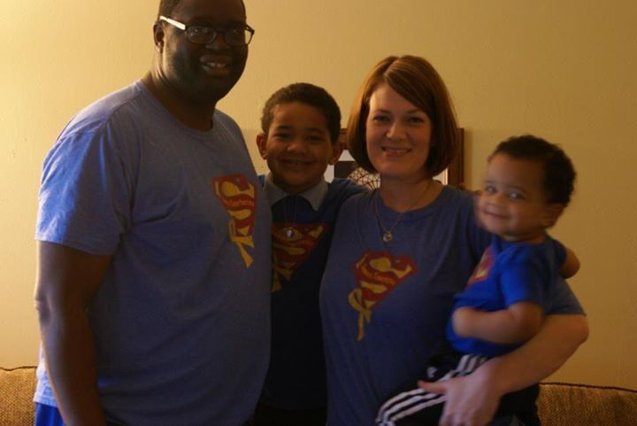My sister Amy's family! Check out my adorable nephews, Alex and Brennan.