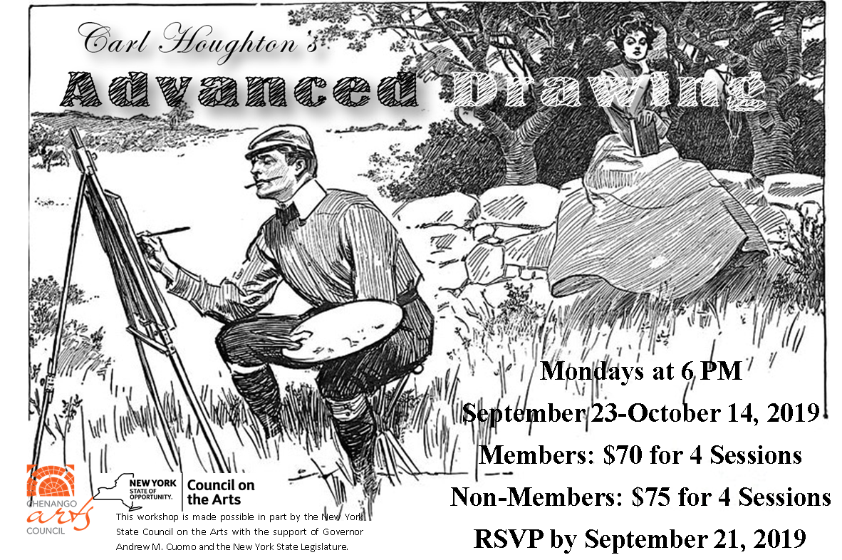 Advanced Drawing with Carl Houghton