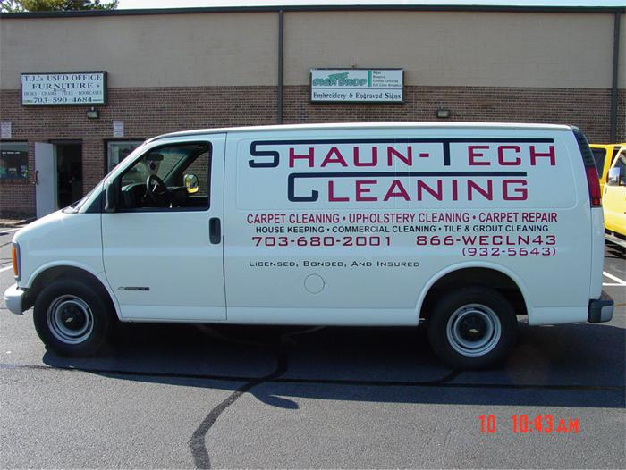 Shaun-Tech Van Graphics