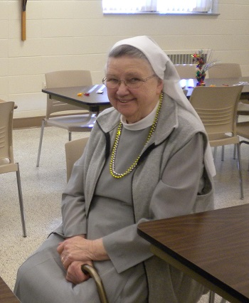Sister of the Month- Sr. Bernardine Beckman April 2015