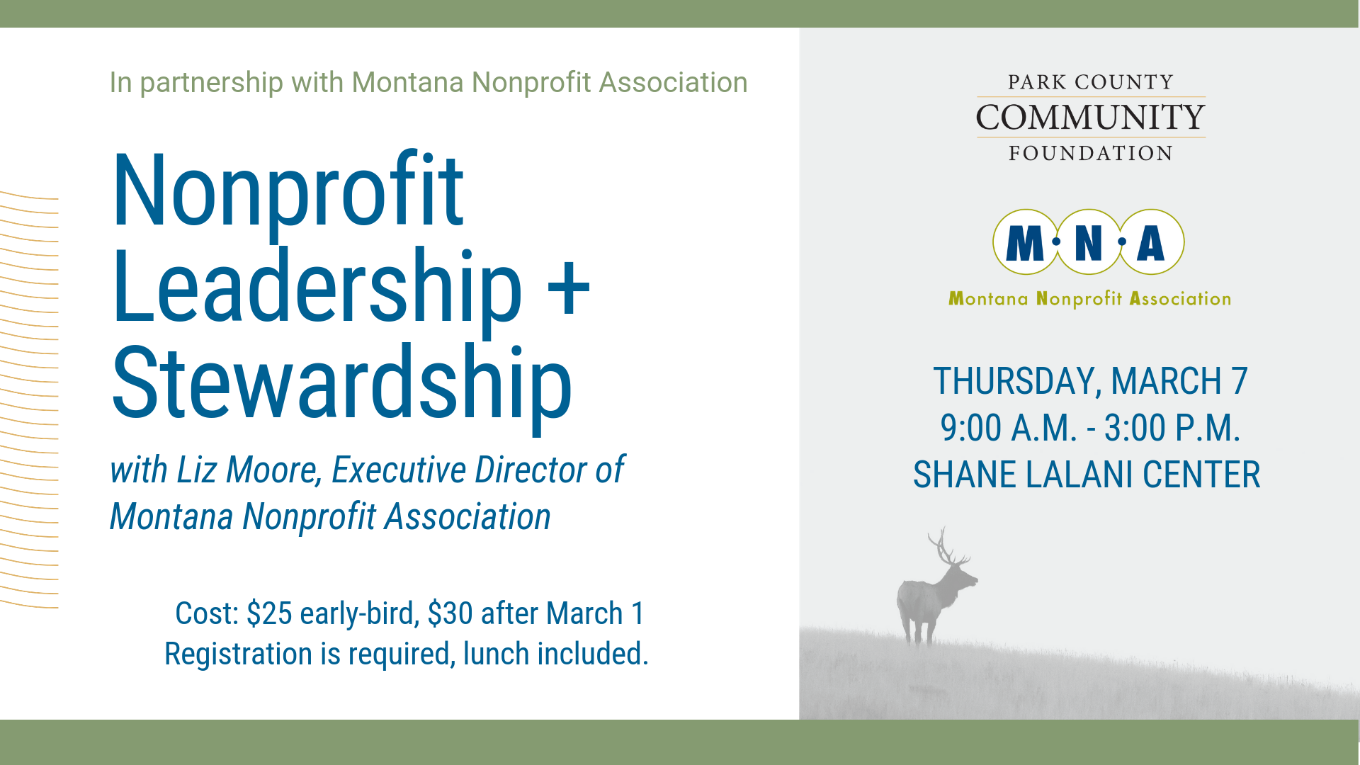 Nonprofit Leadership & Stewardship Training