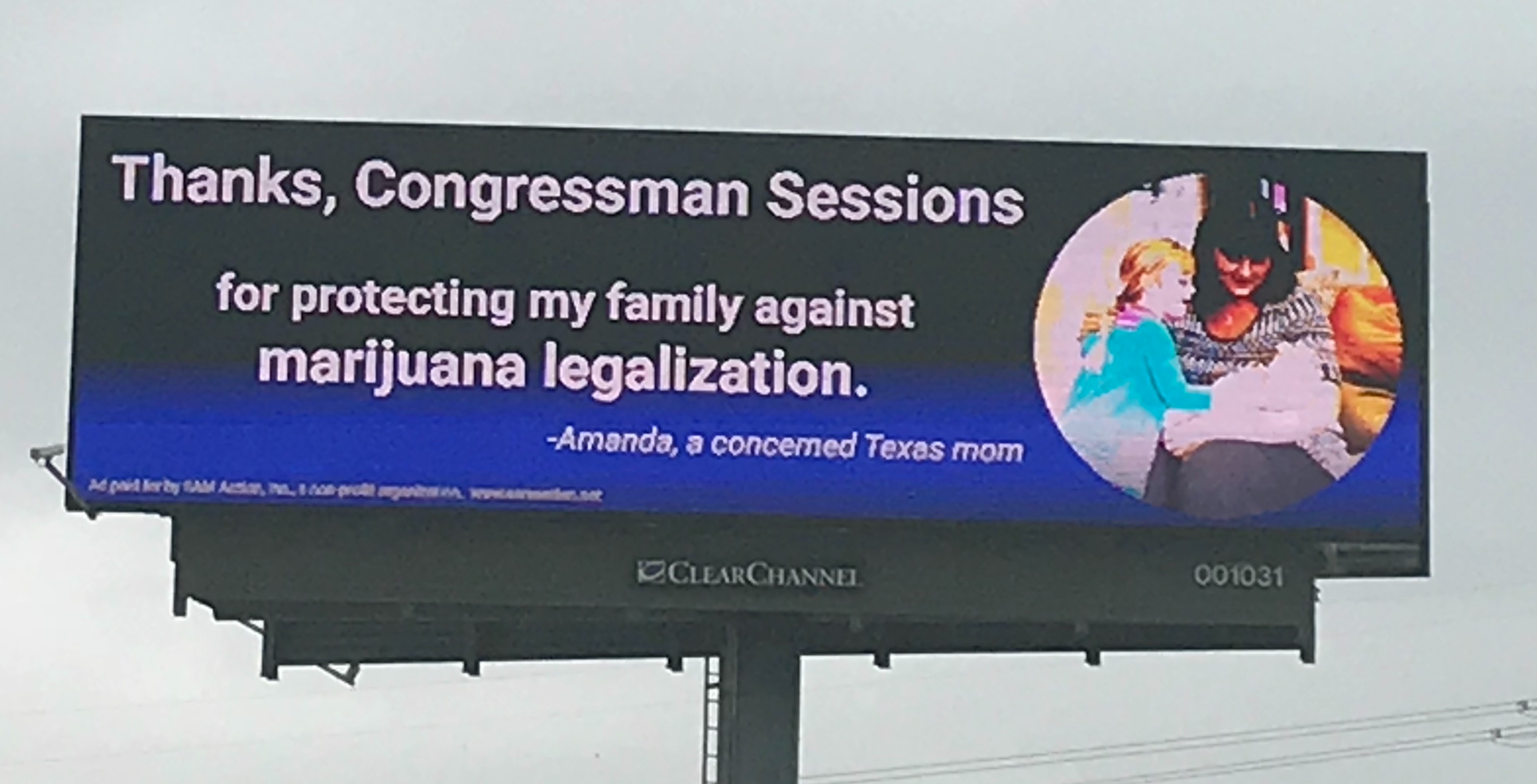 Thank You, Congressman Sessions!