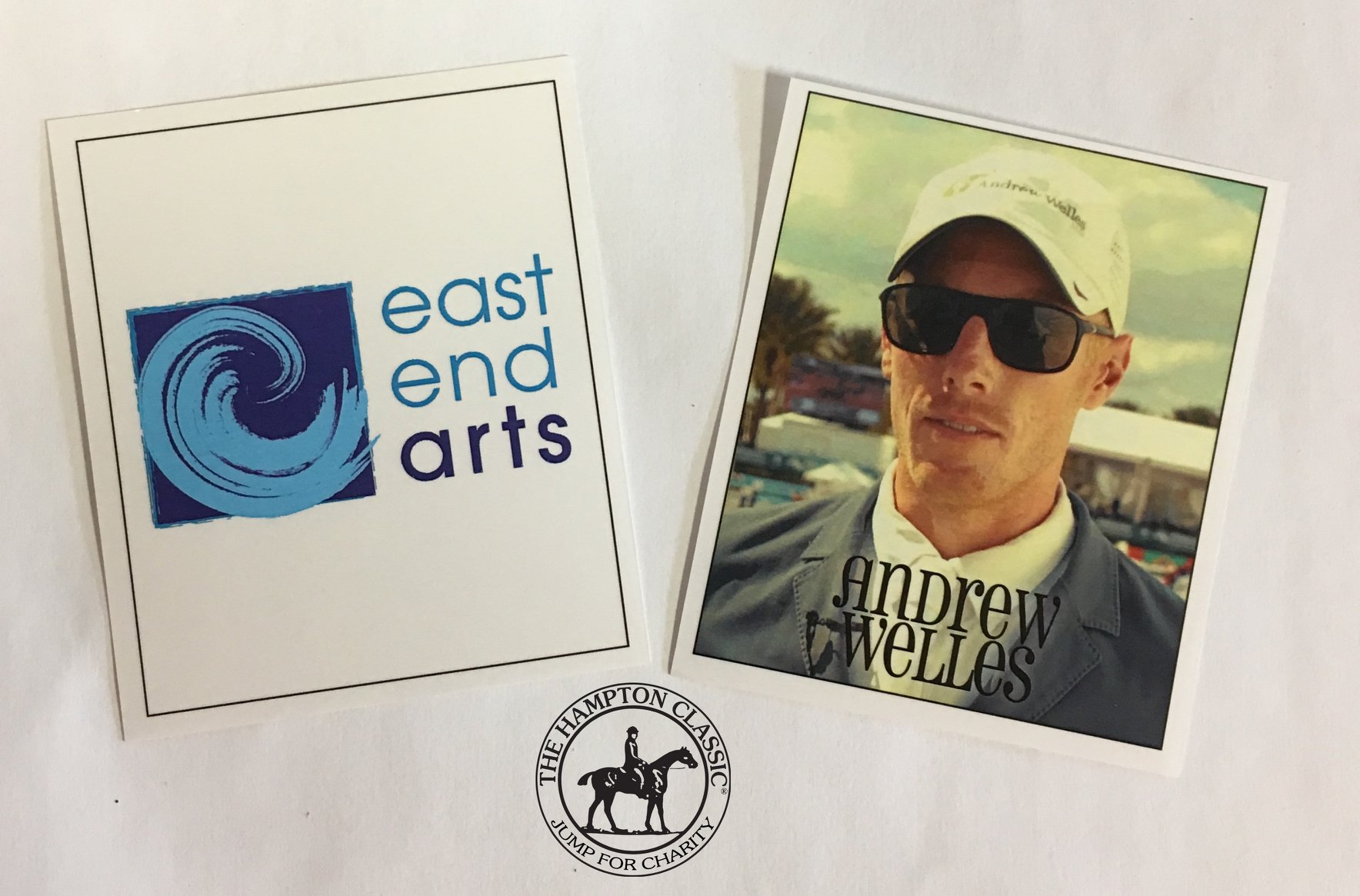 """East End Arts Selected for The Hampton Classic """"Jump for Charity"""" Contest"""