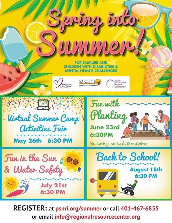 Spring Into Summer - Event Flyer