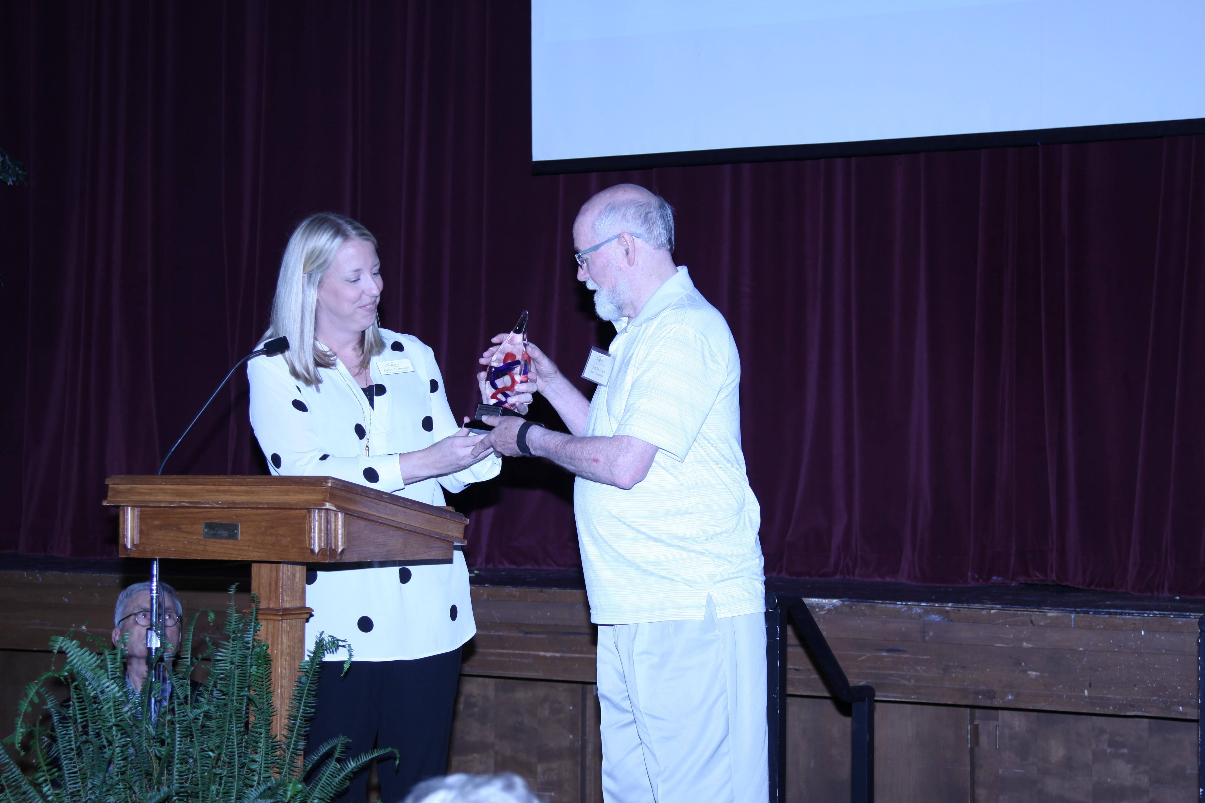 Frith Receives J. Jernigan Award