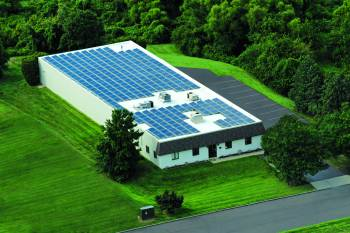 Arial Solar Roof Photo