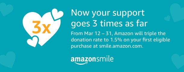 Triple Your AmazonSmile Donation