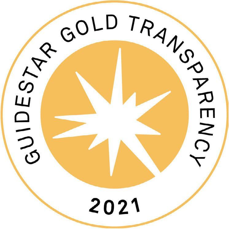 We earned a 2021 Gold Seal of Transparency on GuideStar!