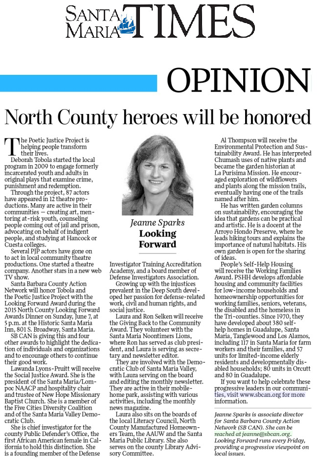 North County heroes will be honored - Santa Maria Times