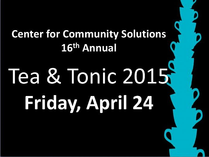Save the Date for Tea & Tonic 2015!