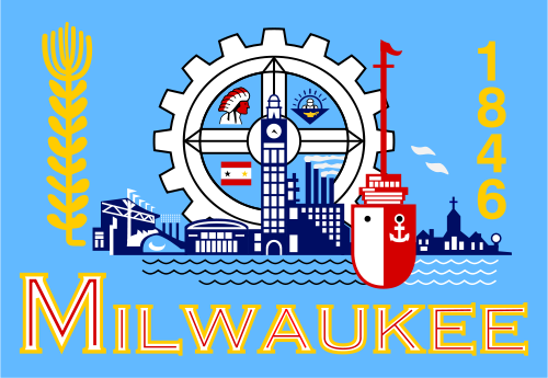 X33098 - Flag of Milwaukee, Wisconsin