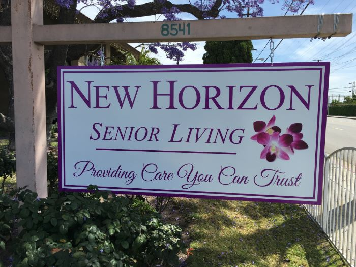 Senior Living Signs