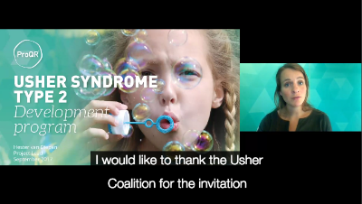 ProQR Usher Syndrome Type 2 Development Program