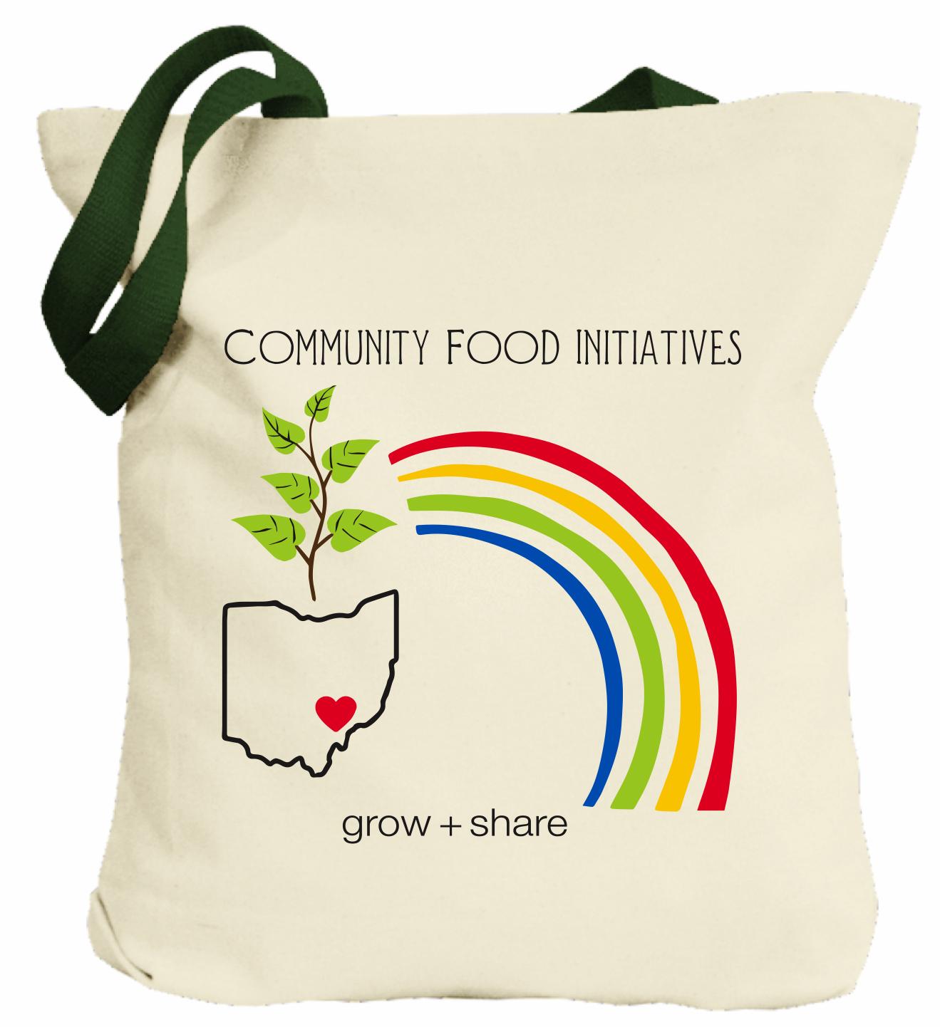 Grow & Share reusable tote bag