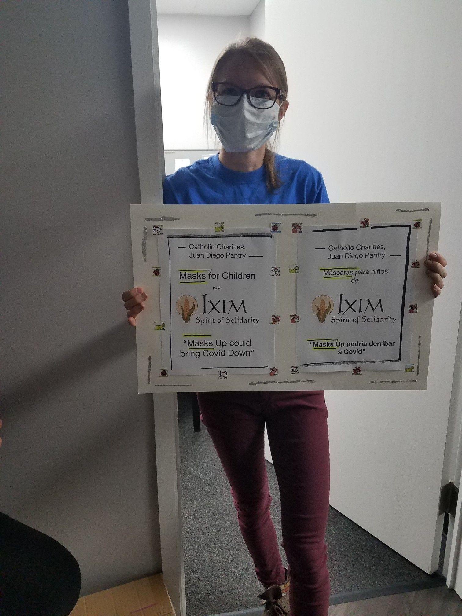 Ixim Safe Smiles Program Delivers 700 Additional Masks to Juan Diego Center